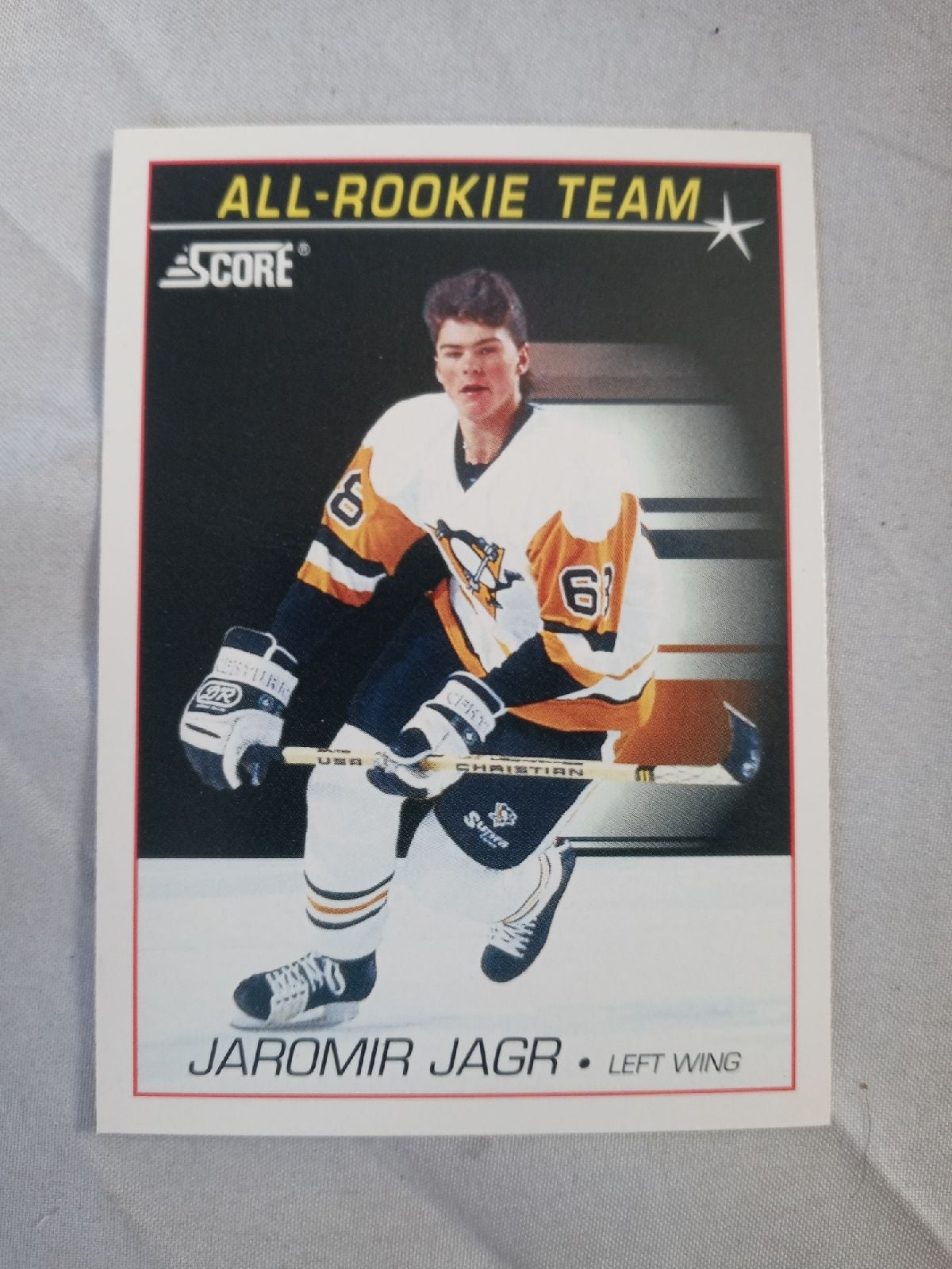 Jaromir Jagr 1991 score rookie card