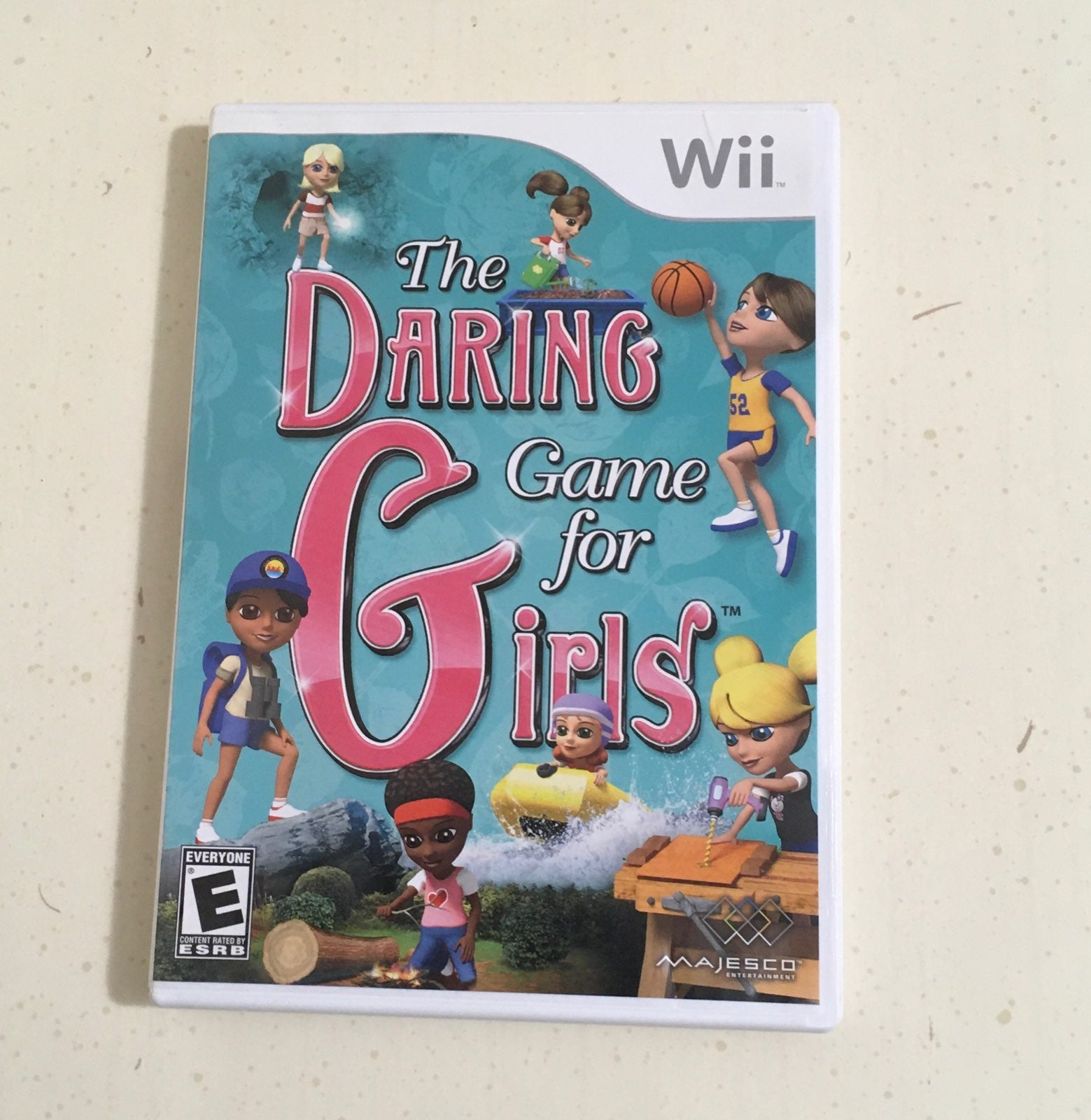 The Daring Game for Girls - Wii