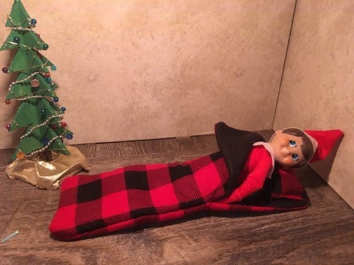 Christmas Elf on the Shelf Sleeping Bag