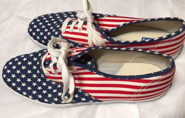 American Flag Keds