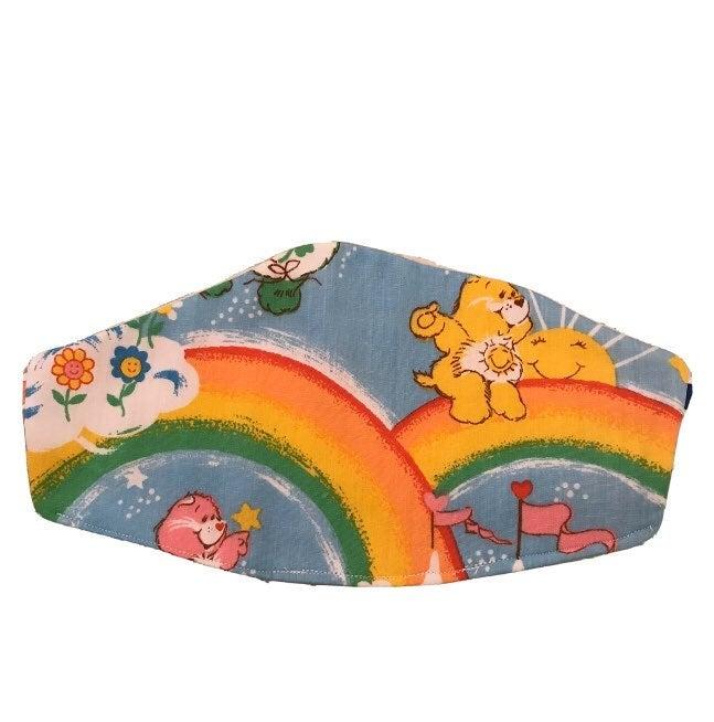 Care Bears Double Rainbow Face Mask