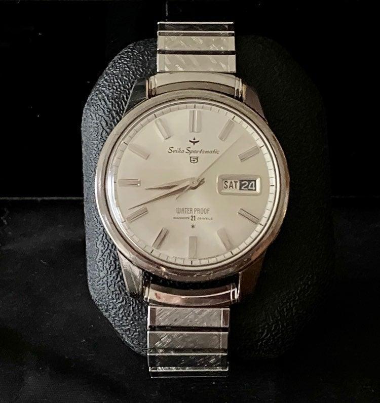 SEIKO Sportsmatic 5 Vintage Watch Auto