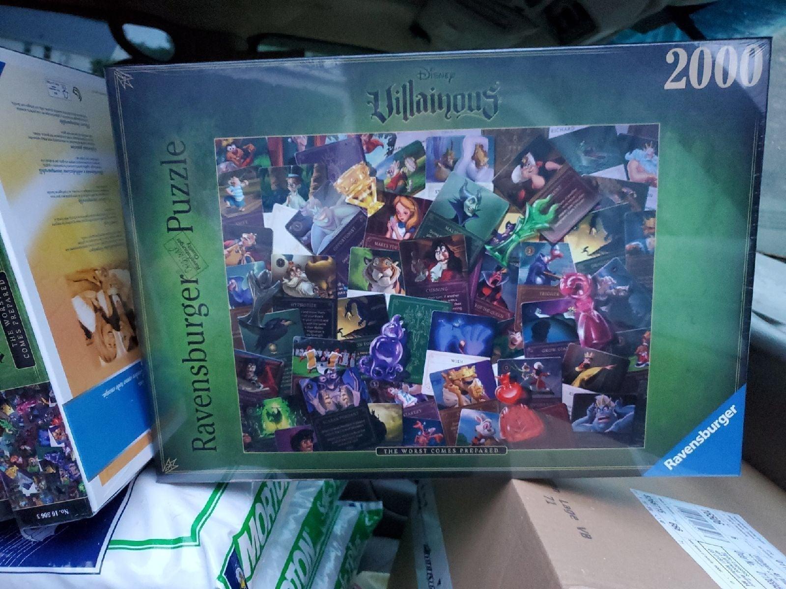 2000 piece ravensburger puzzle
