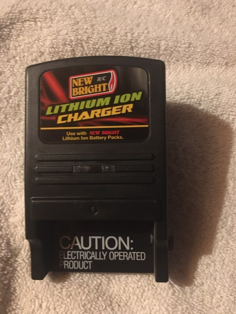 New bright lithium battery charger