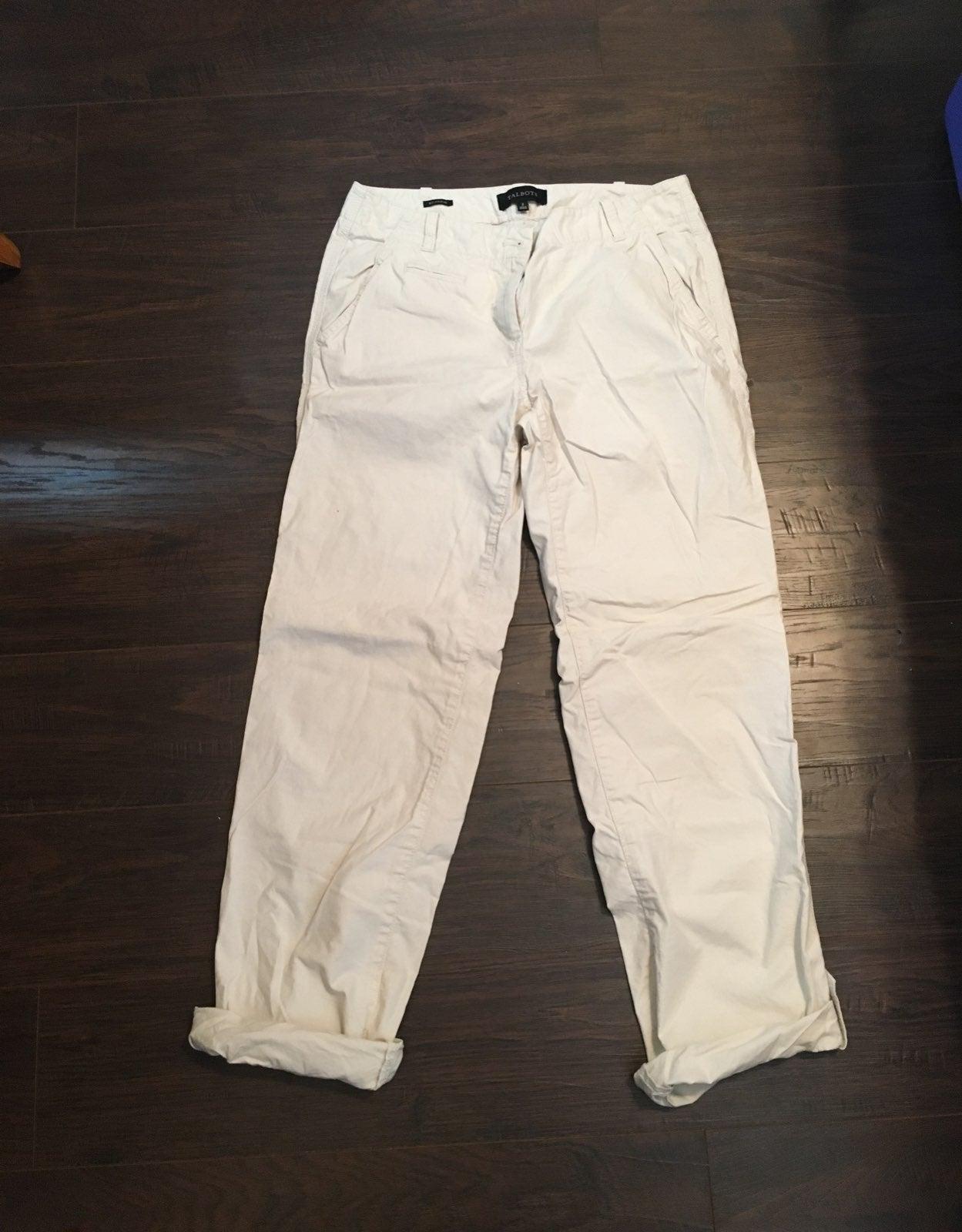 Talbots boyfriend pants