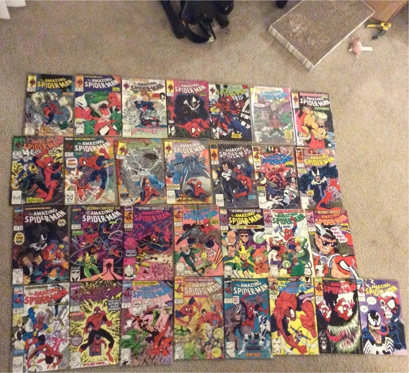 Amazing Spiderman #303-347