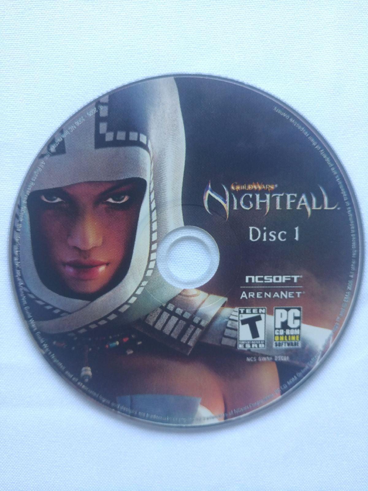 Night fall Guild Wars disc 1
