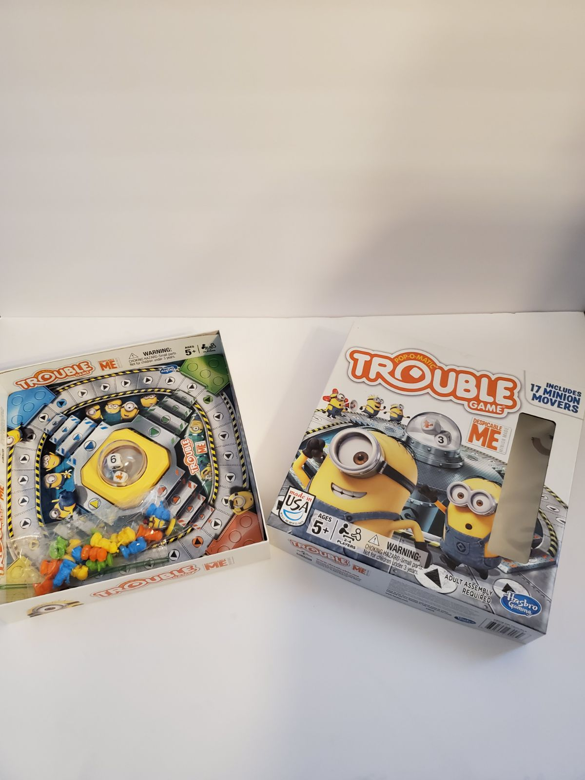 TROOUBLE Despicable Me Board Game