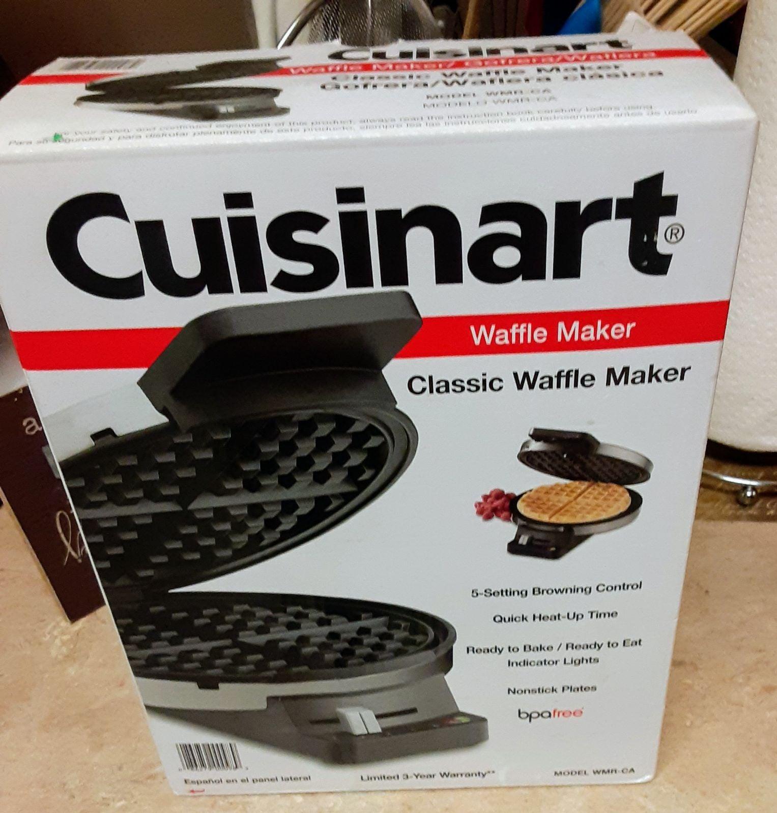 Cuisinart brand new waffle iron still in