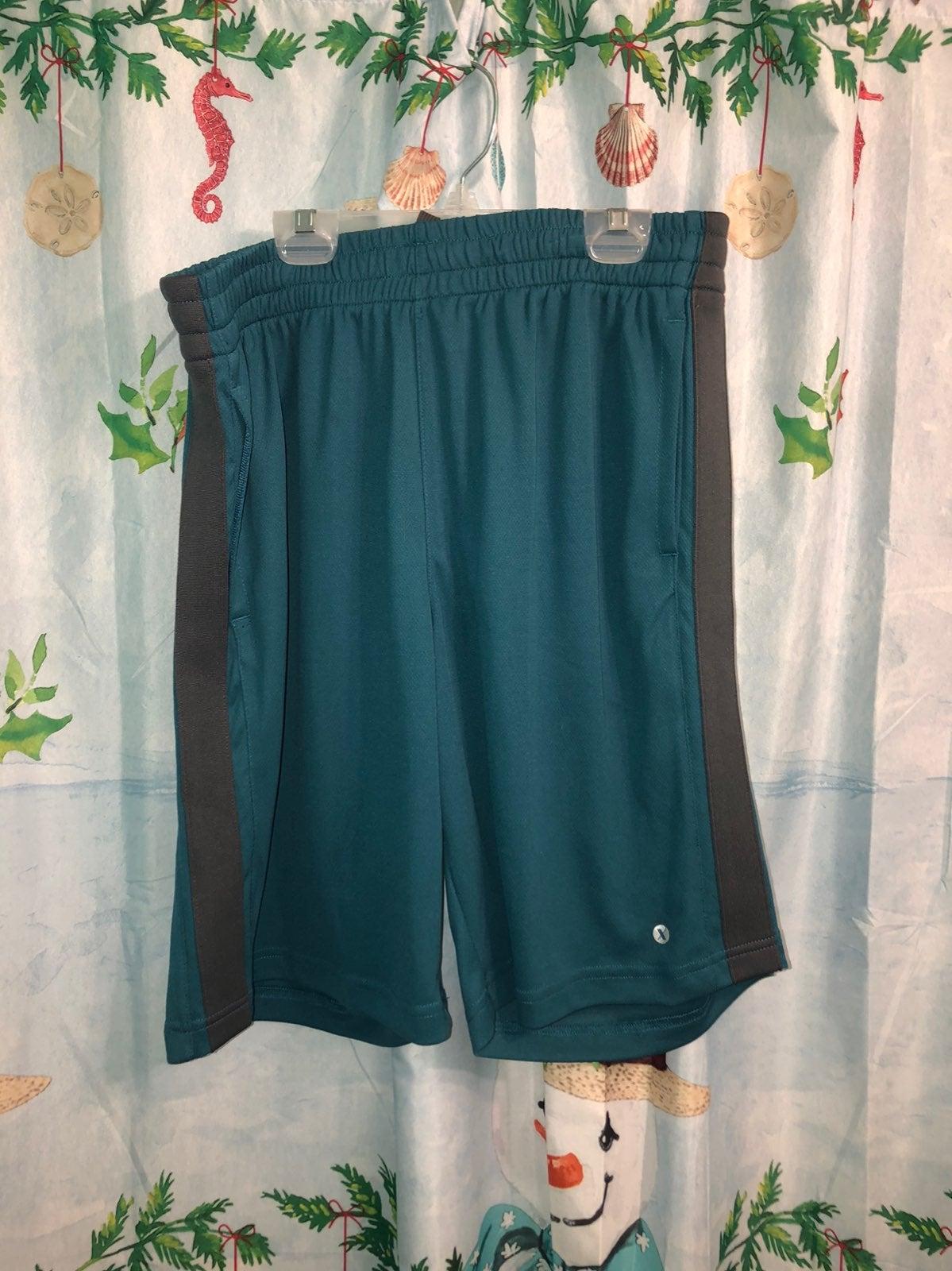 Brand new blue gym shorts.