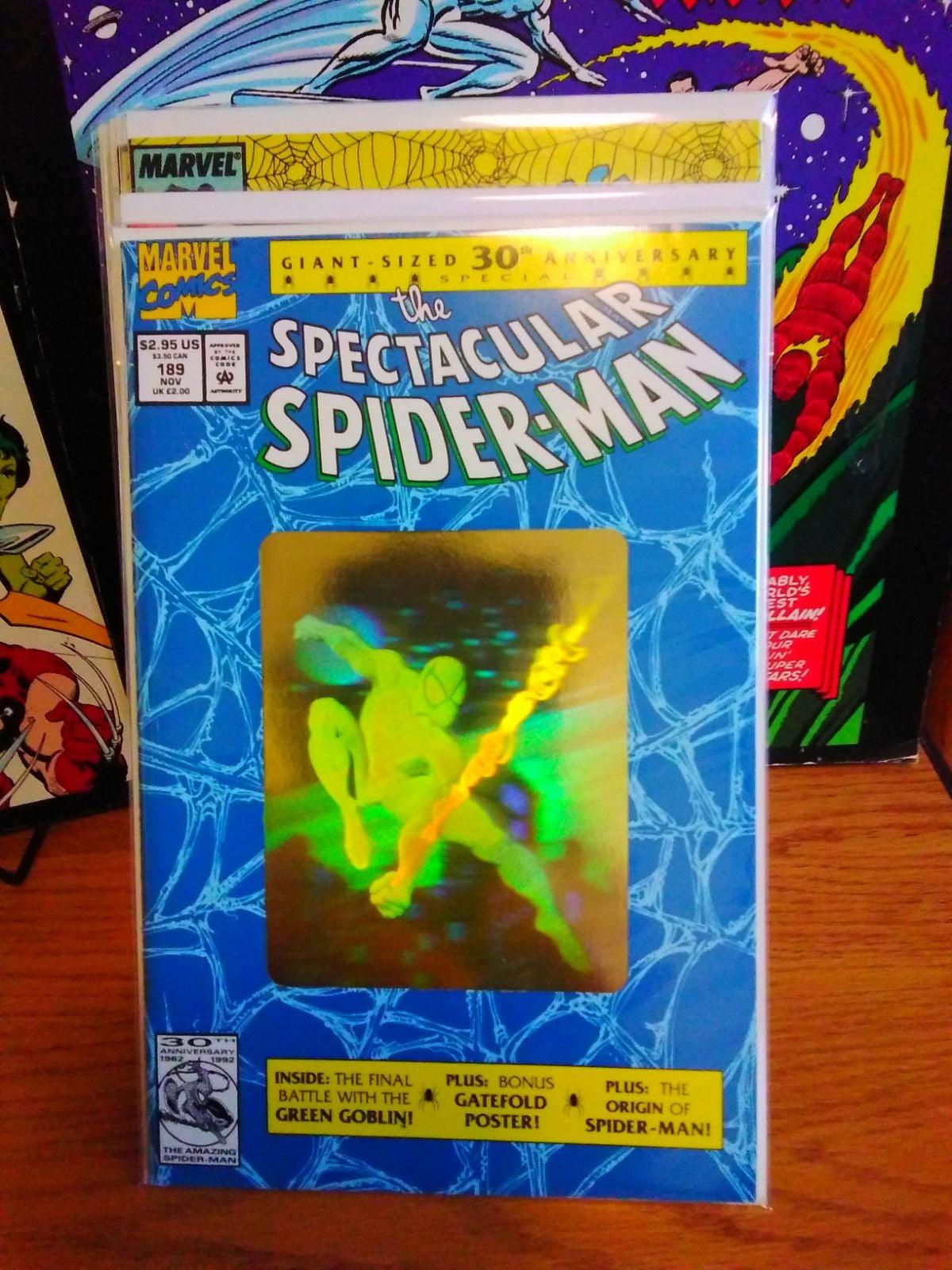 SPECTACULAR SPIDERMAN 189