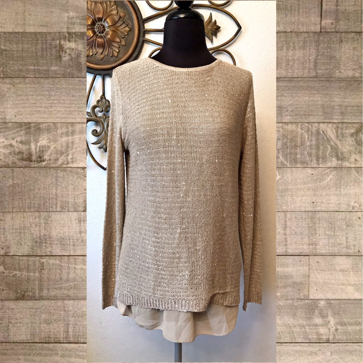 Sioni Zipper Sweater Small