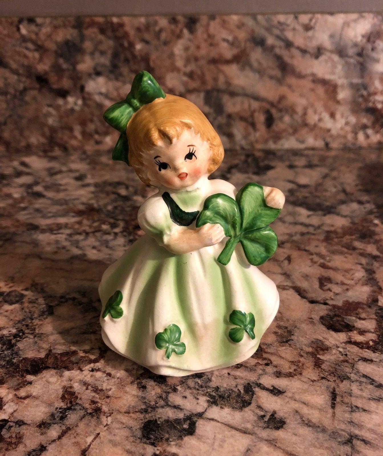 Lefton Porcelain Irish Girl