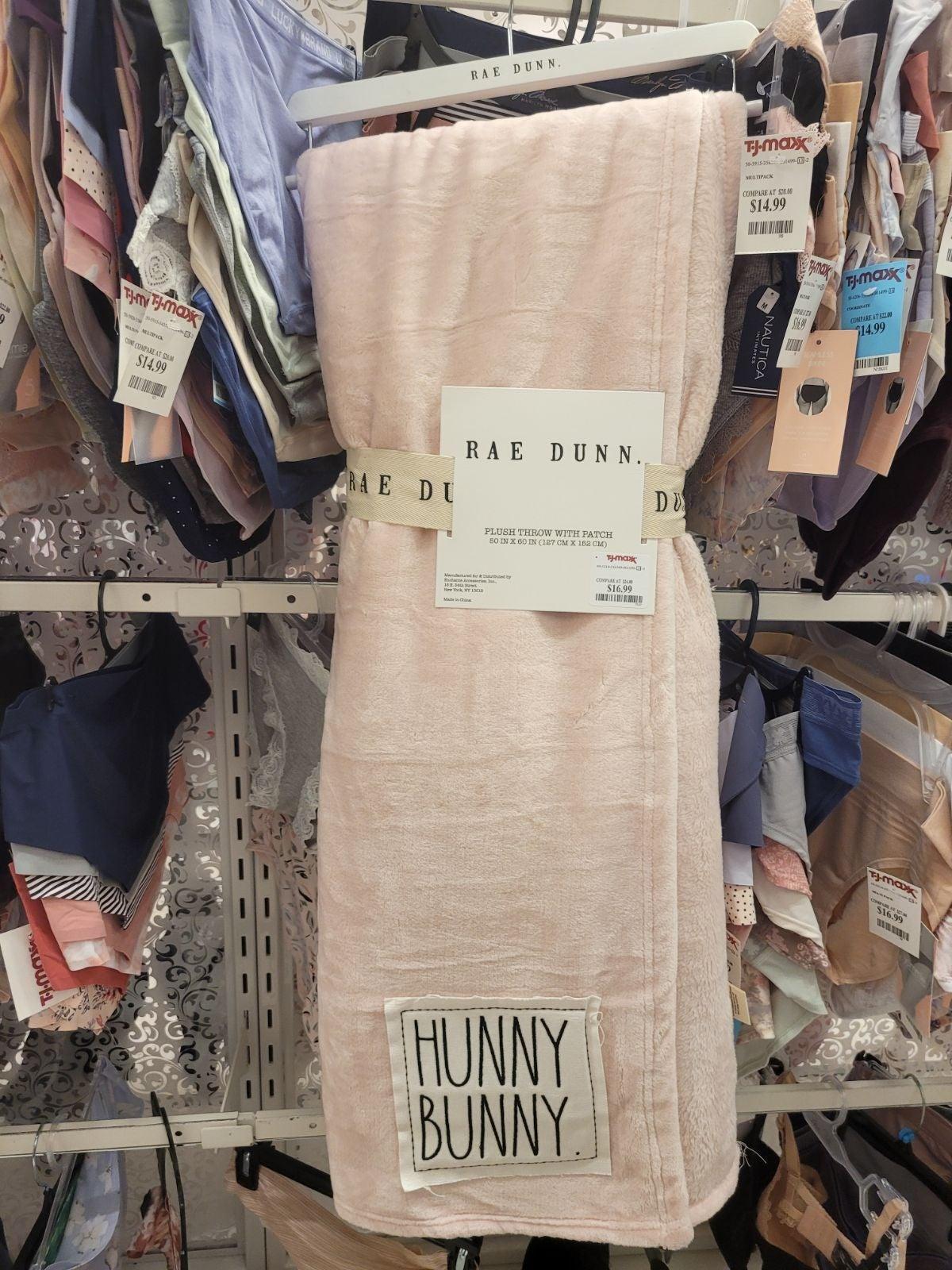 Rae Dunn easter Blanket 50x60in