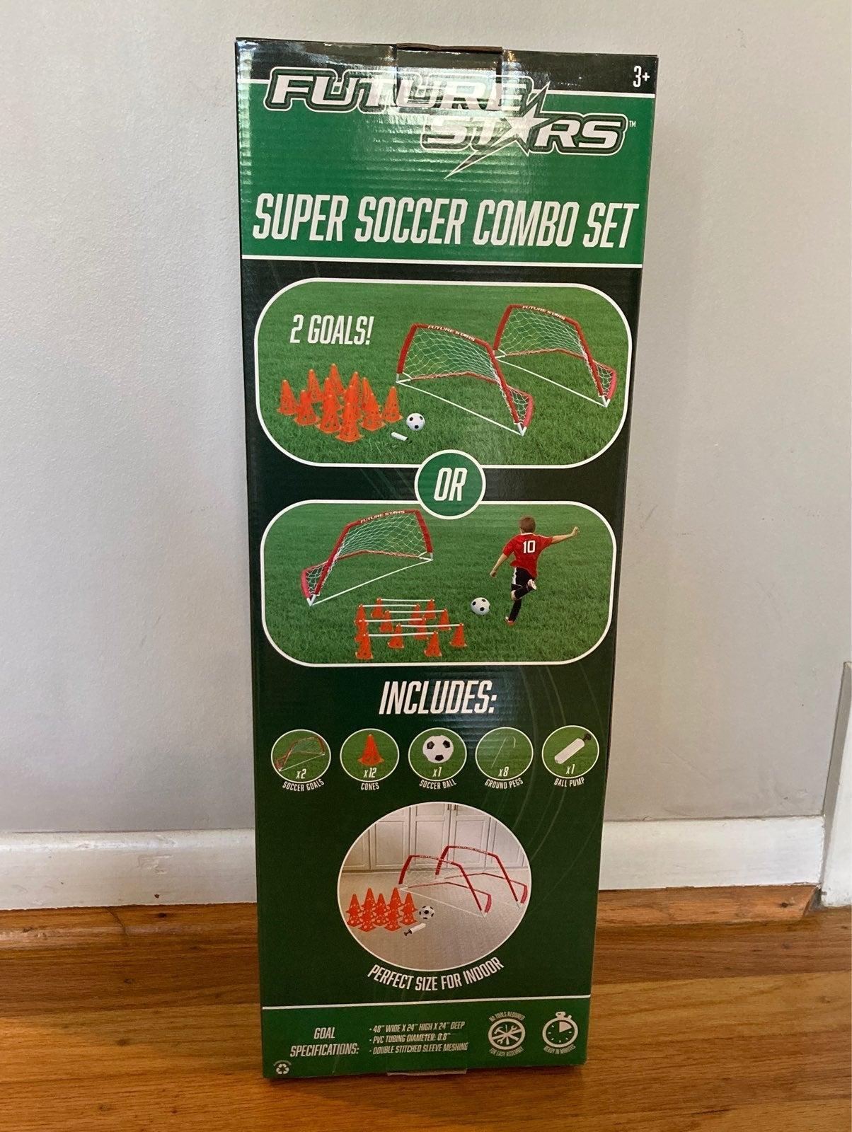 Future Stars Super Soccer Game Combo Set