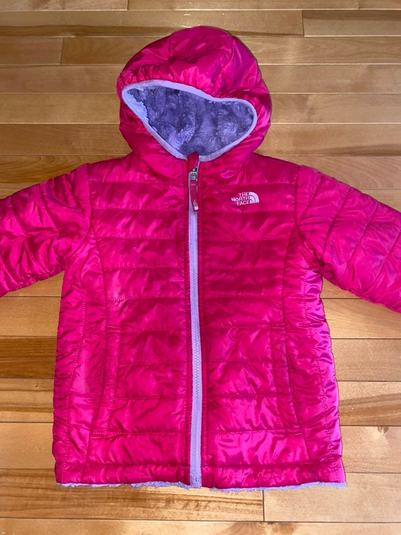 The north face reversible jacket size 5