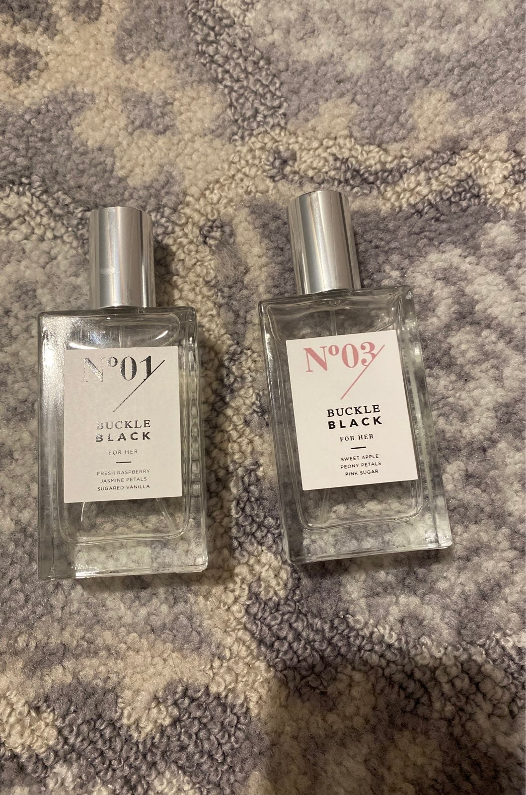 Buckle perfume
