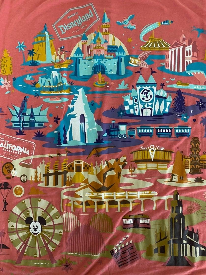 Disneyland & Ca Adventure Tee