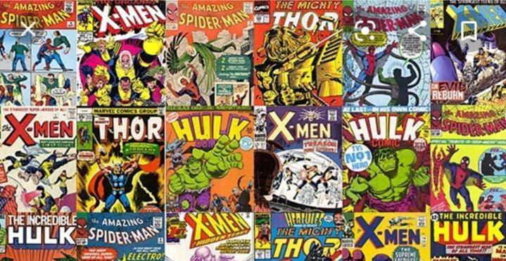 Random lot of 10 Marvel comics 1970-1985