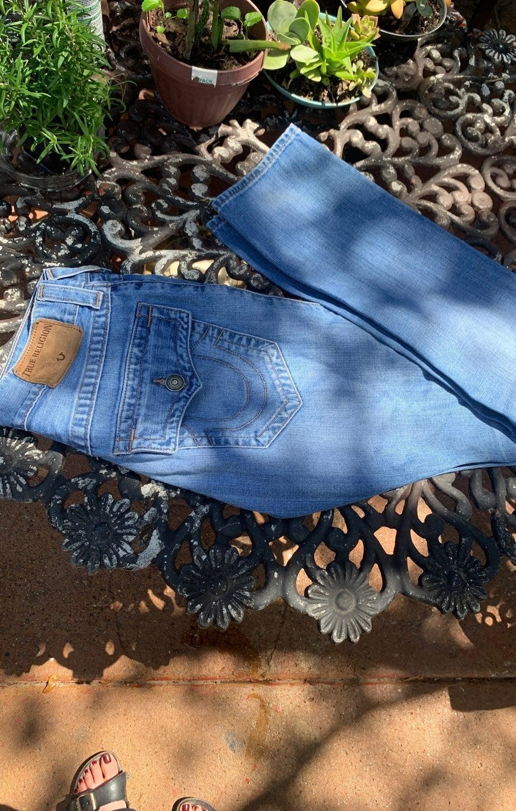 True Religion jeans, size 28 (bootcut)