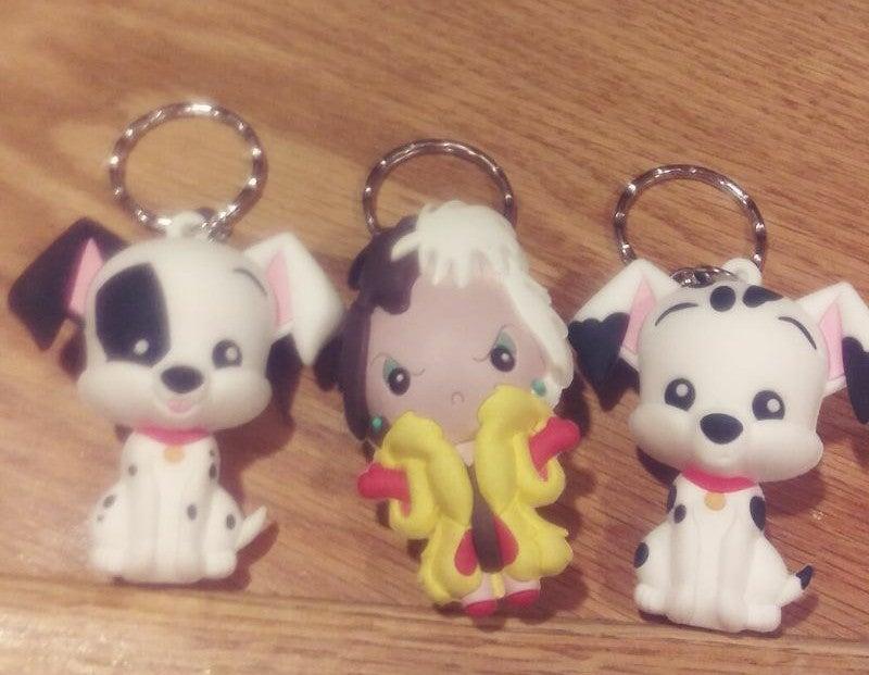 Disney 3D Figural Keychains - Cruella, S