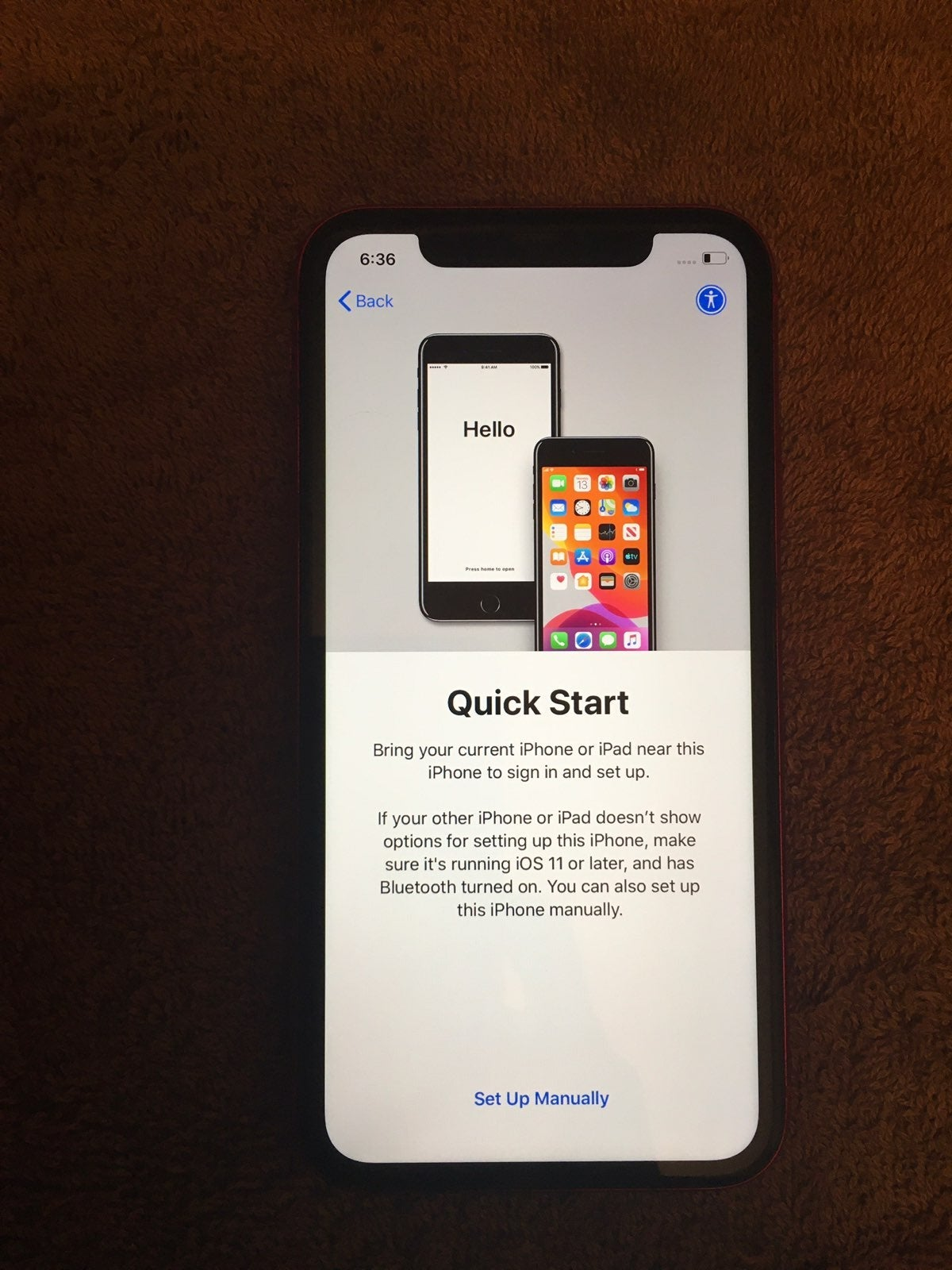 Apple iPhone 11 64GB RED A2111-iC Locked