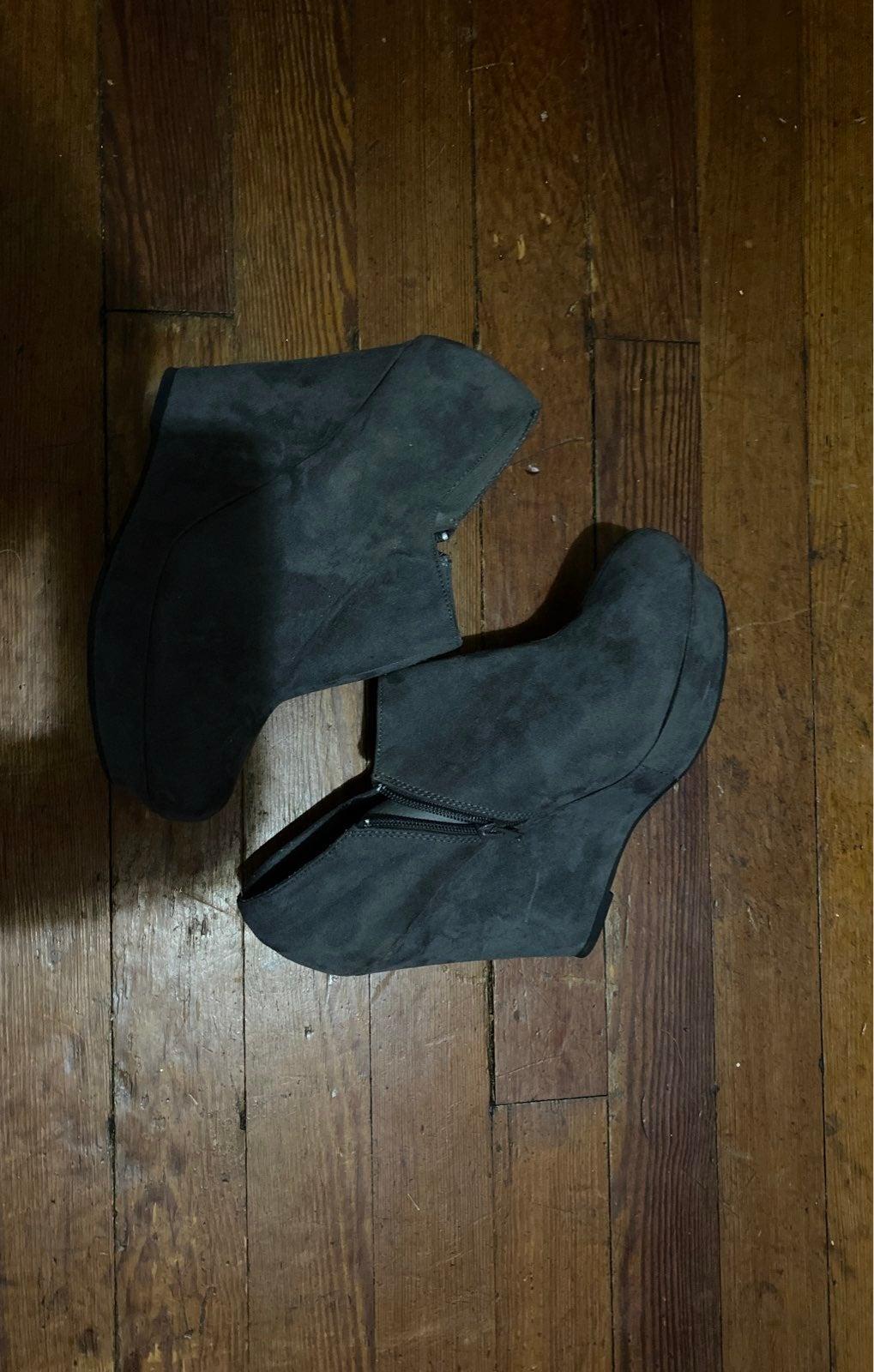 Womens wedges (Grey)