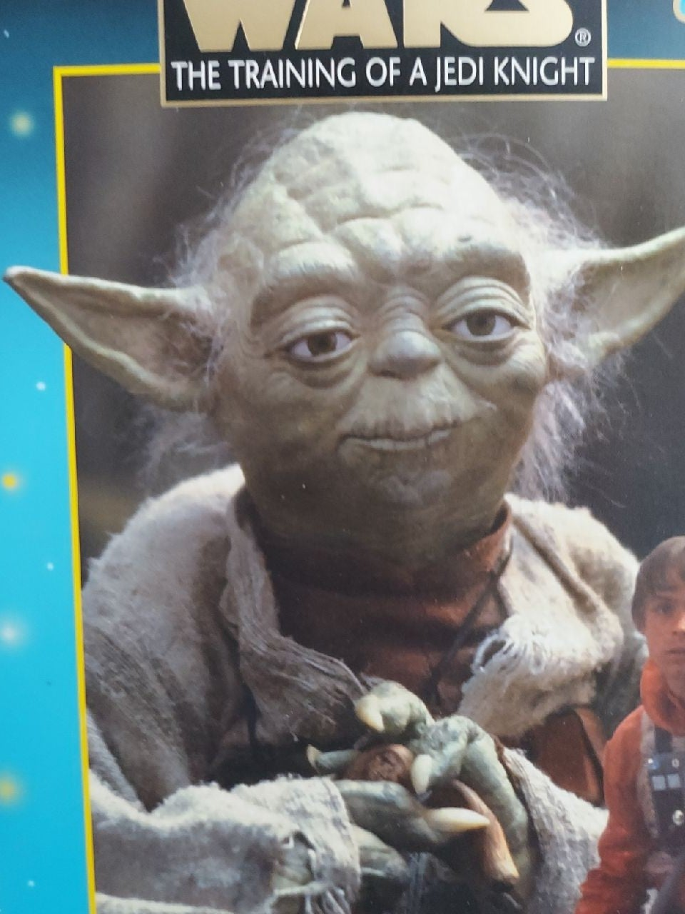 Star Wars training of a jedi Knight Yod