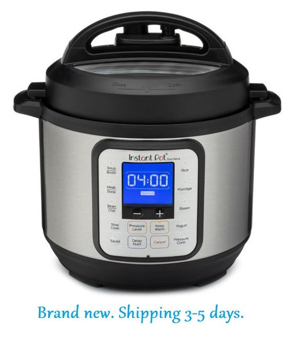 Instant 3 Quart Electric Pressure Cooker