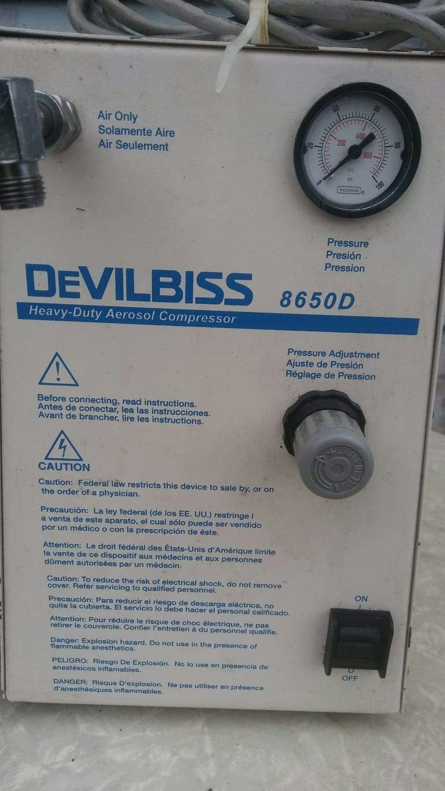 Devilbiss healthcare Heavy-duty Aerosol