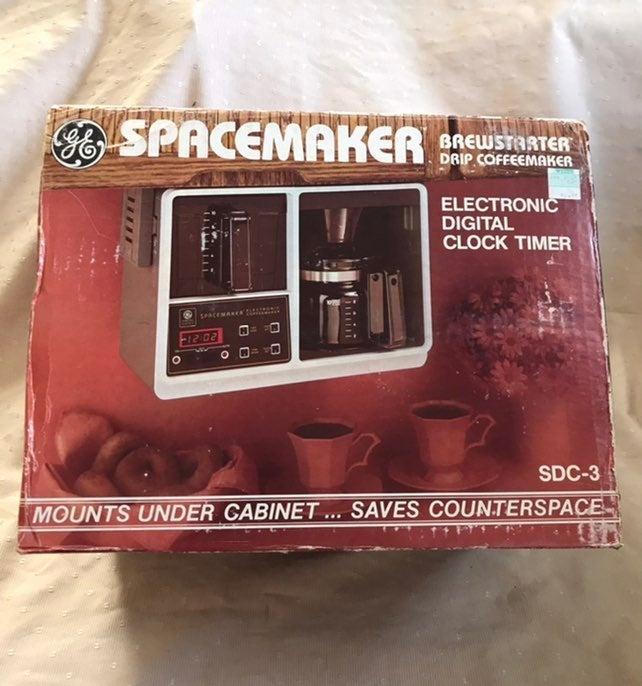 Vintage GE Spacemaker Coffeemaker NIB