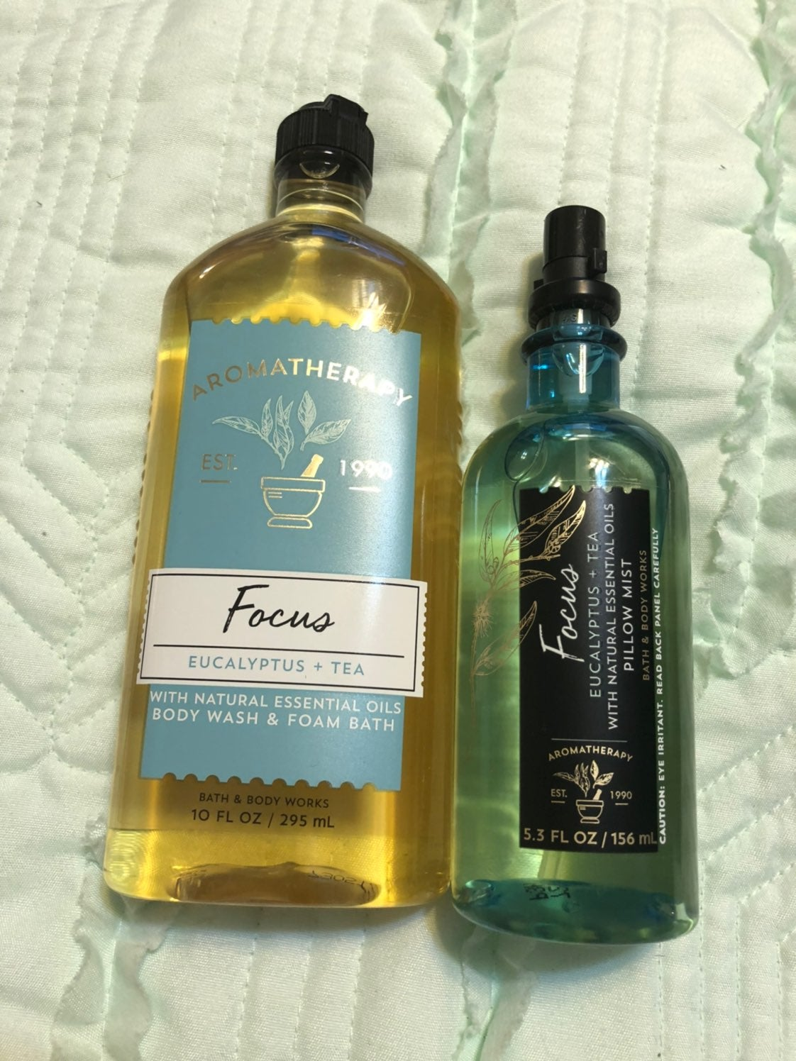 Bath and Body Works aromatherapy focus