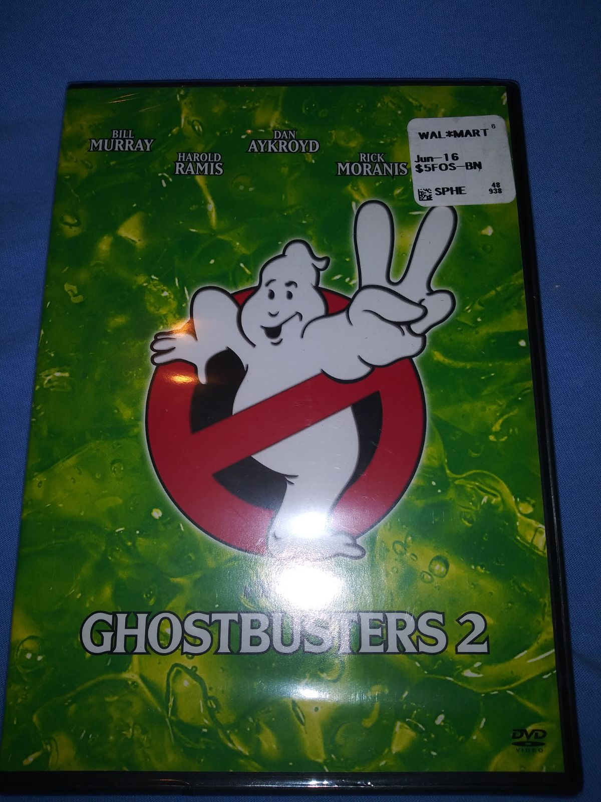 DVD Ghostbusters 2 new sealed