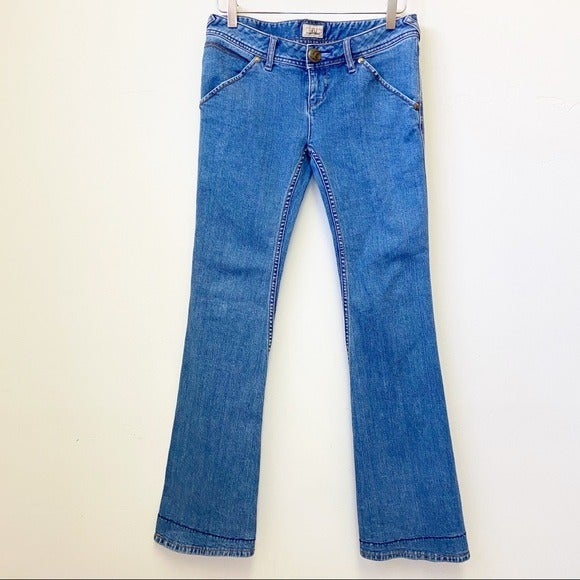 Free People vintage flare jeans cuff lining 27
