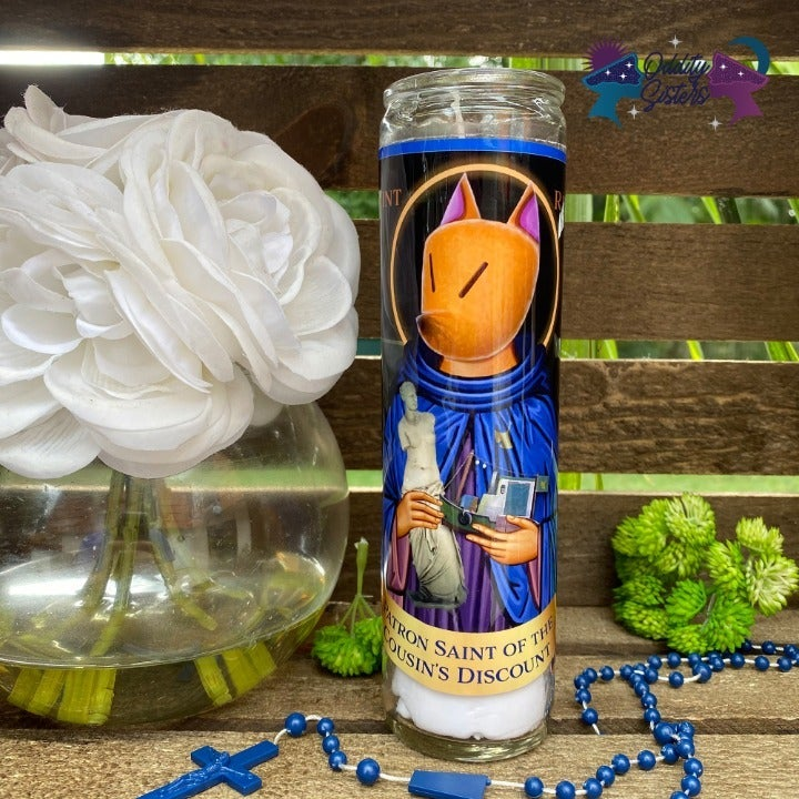 Saint Crazy Redd Prayer Candle