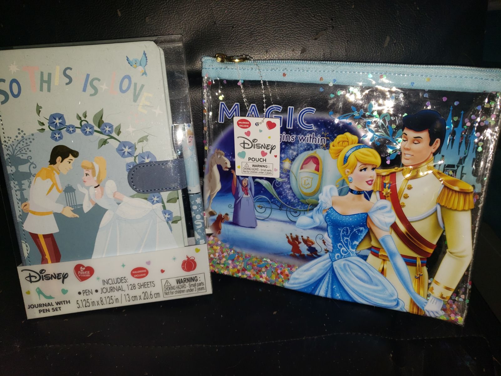 Cinderella Journal Set