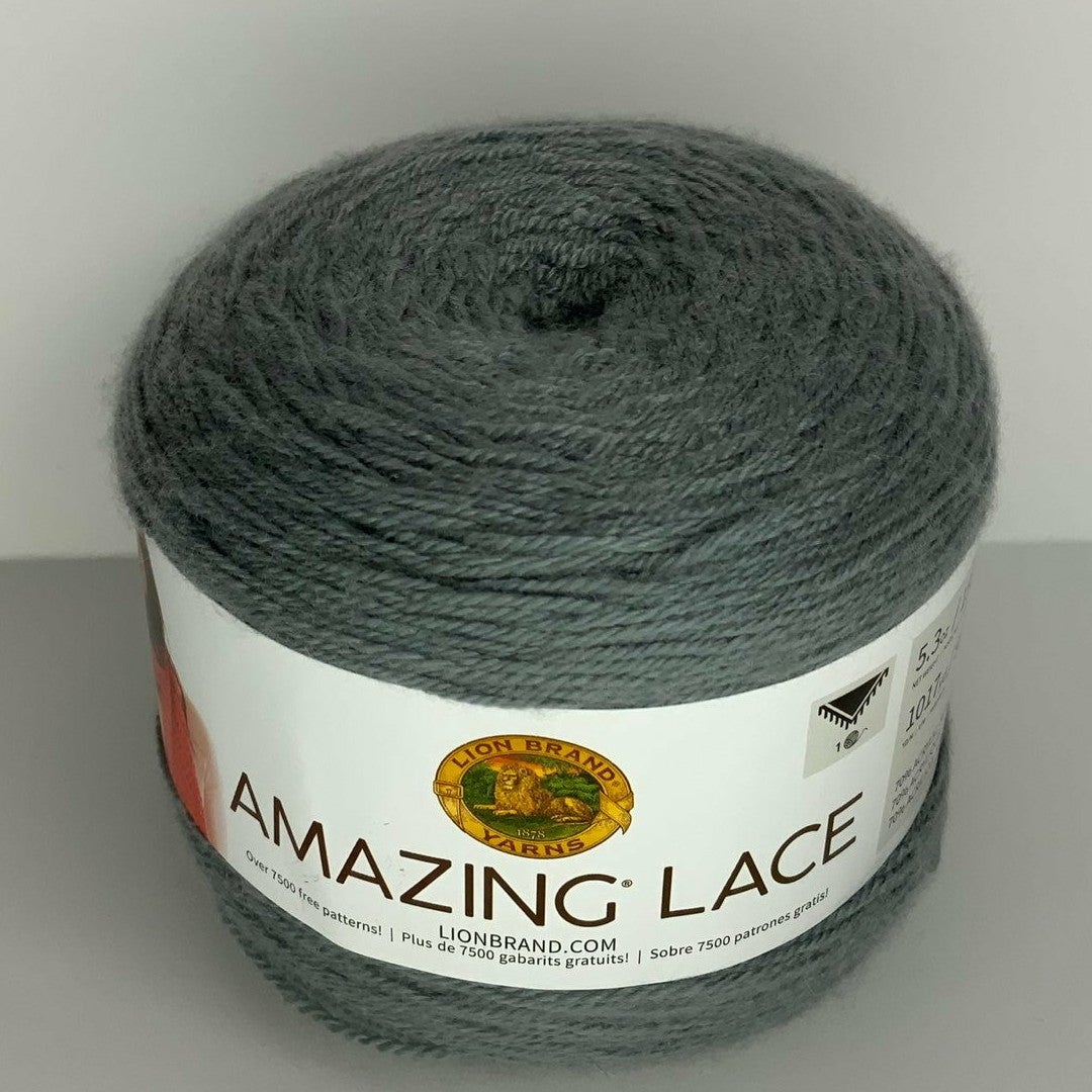 amazing lace eyelet grey