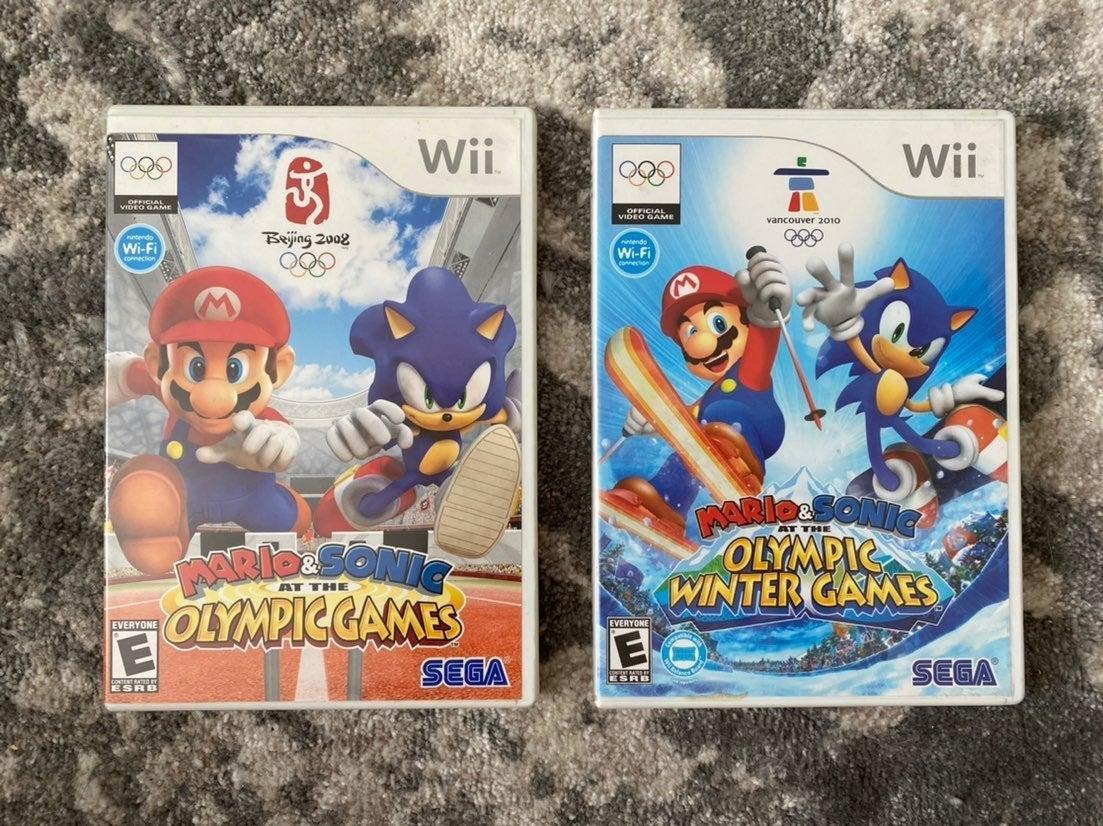 Mario & Sonic Olympic bundle