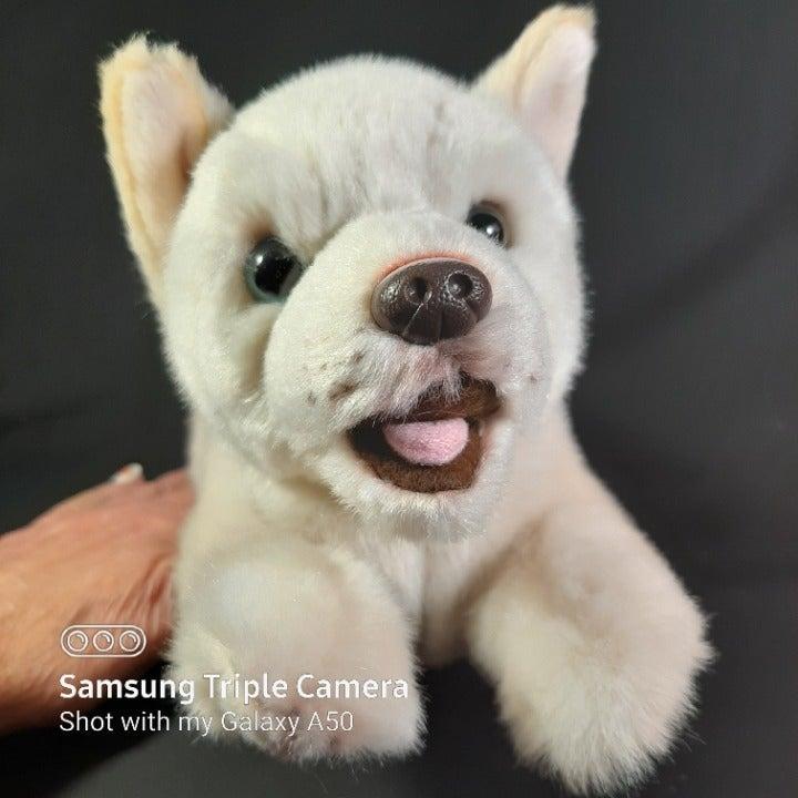 Mix Breed Rescue Dog Plush Stuffed Toy