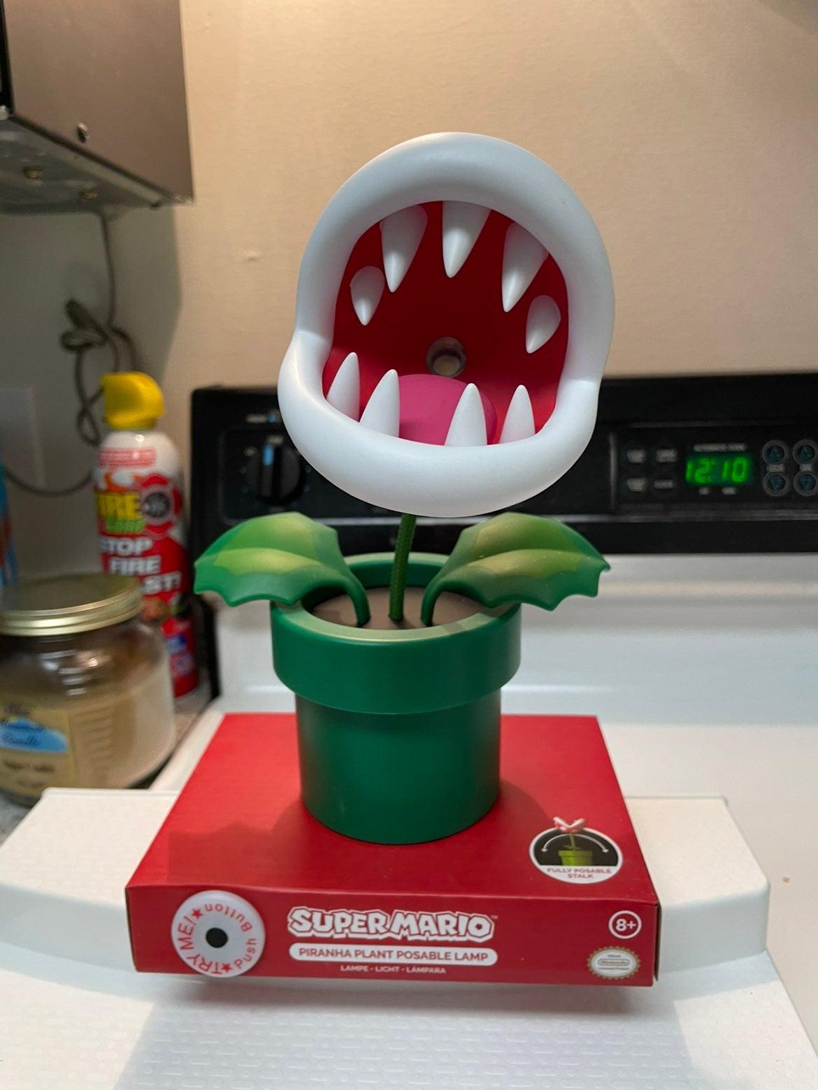 Super Mario Piranha Plant Posable Lamp