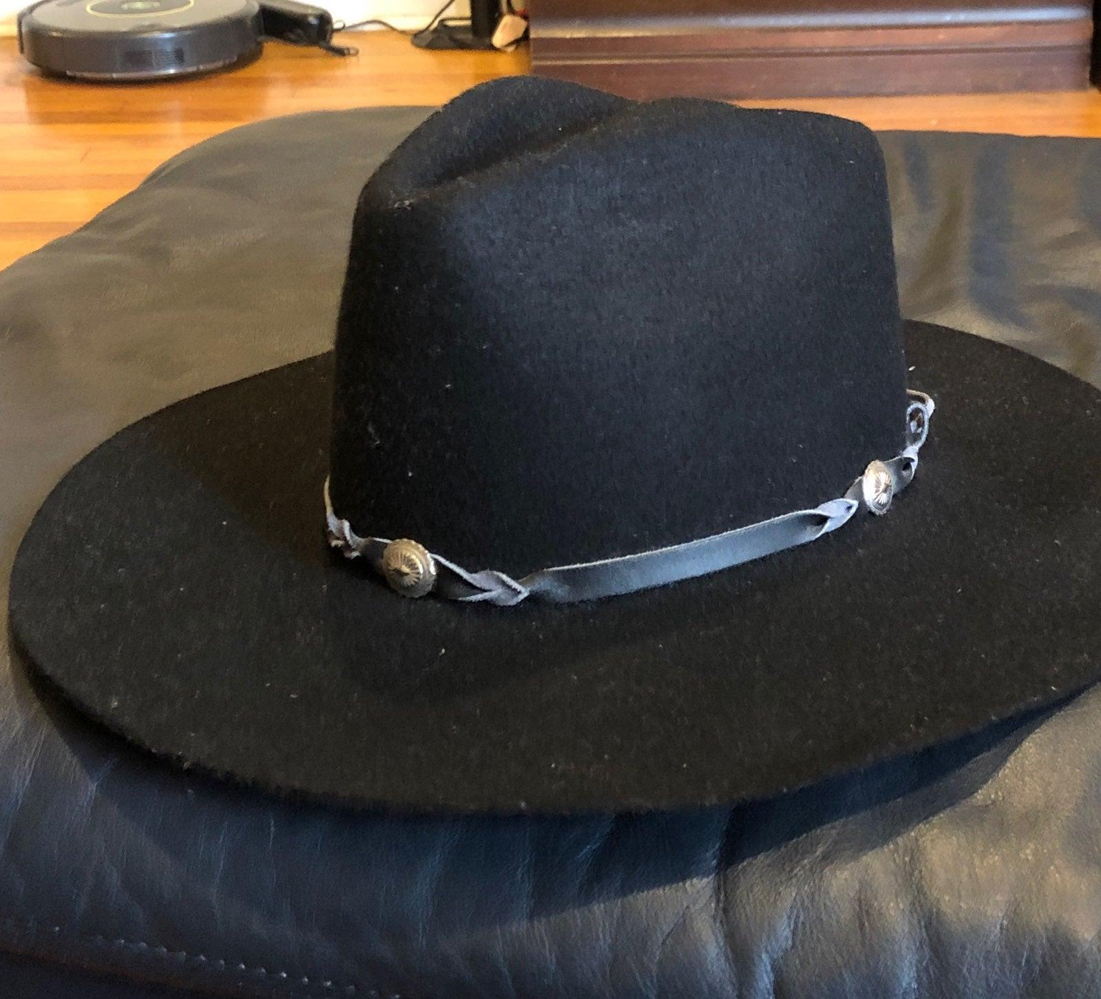 """Men's """"cowboy """" Black Hat"""