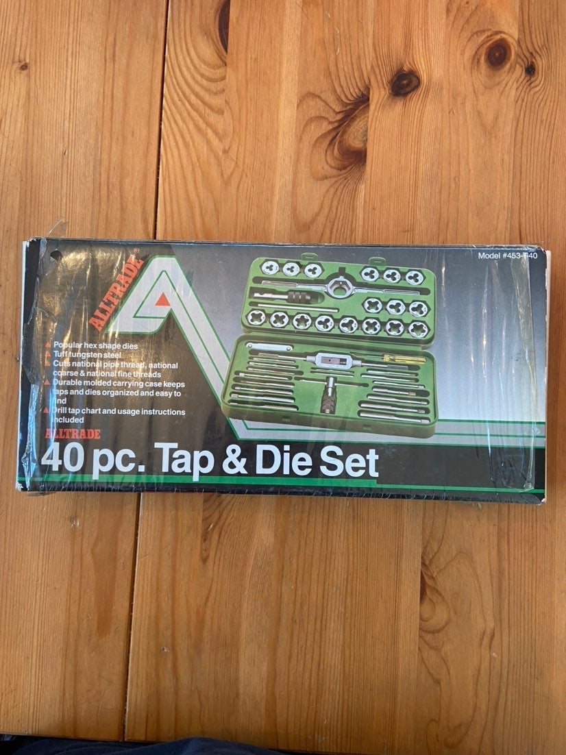 Alltrade 40 pc. Tap and Die Set