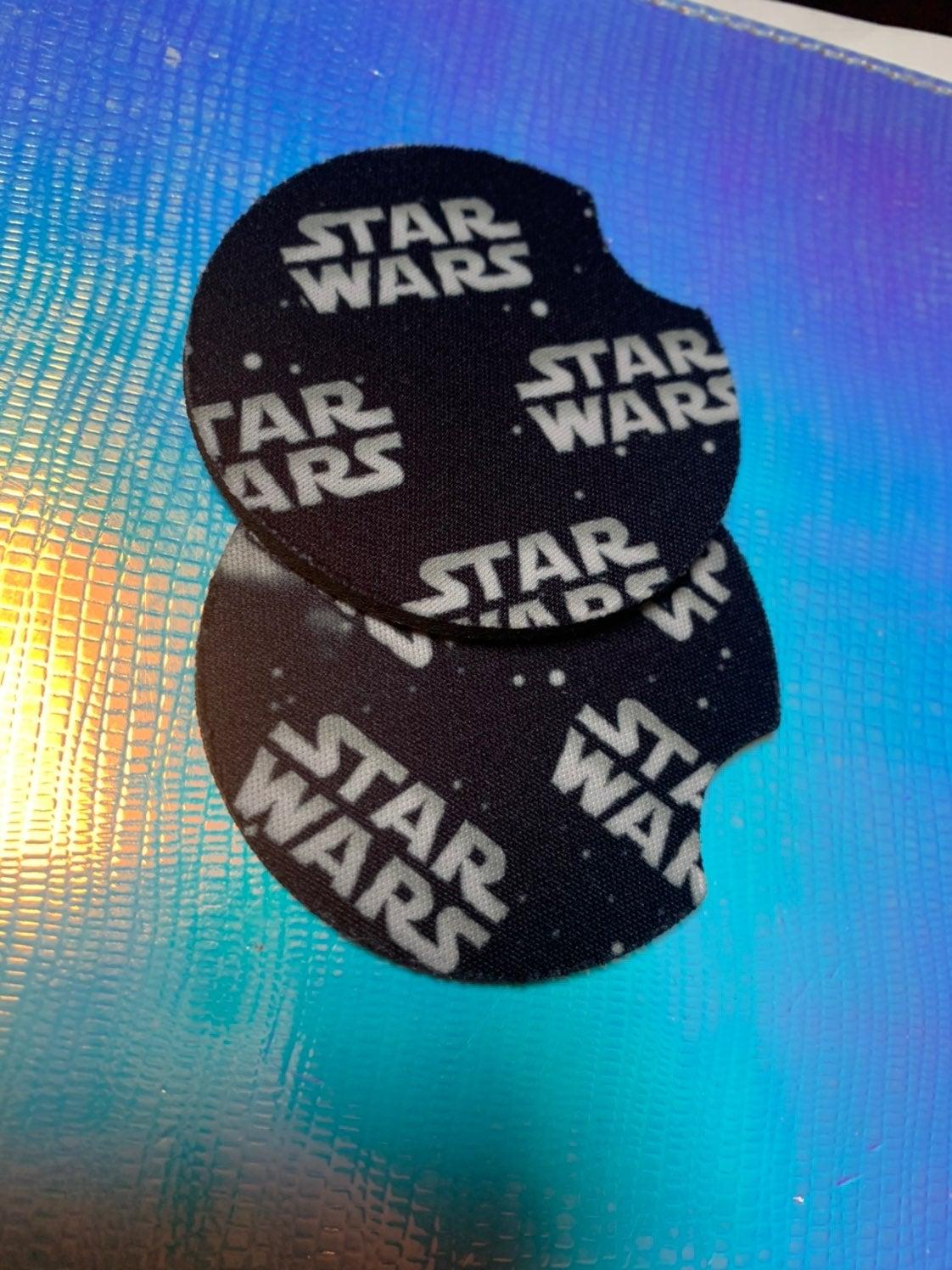 Star Wars Rubber Car Coasters