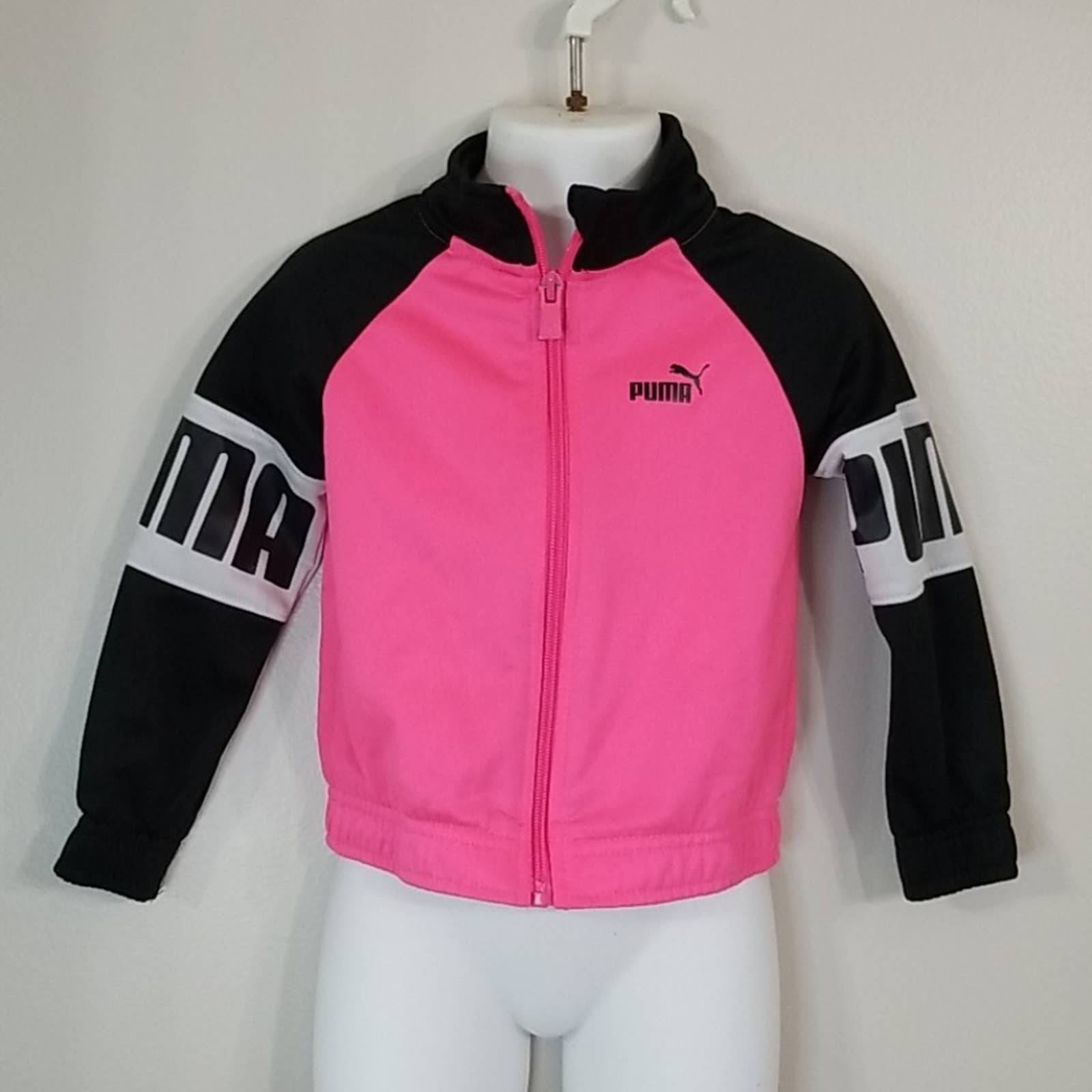 Puma girl's jacket sz 2T
