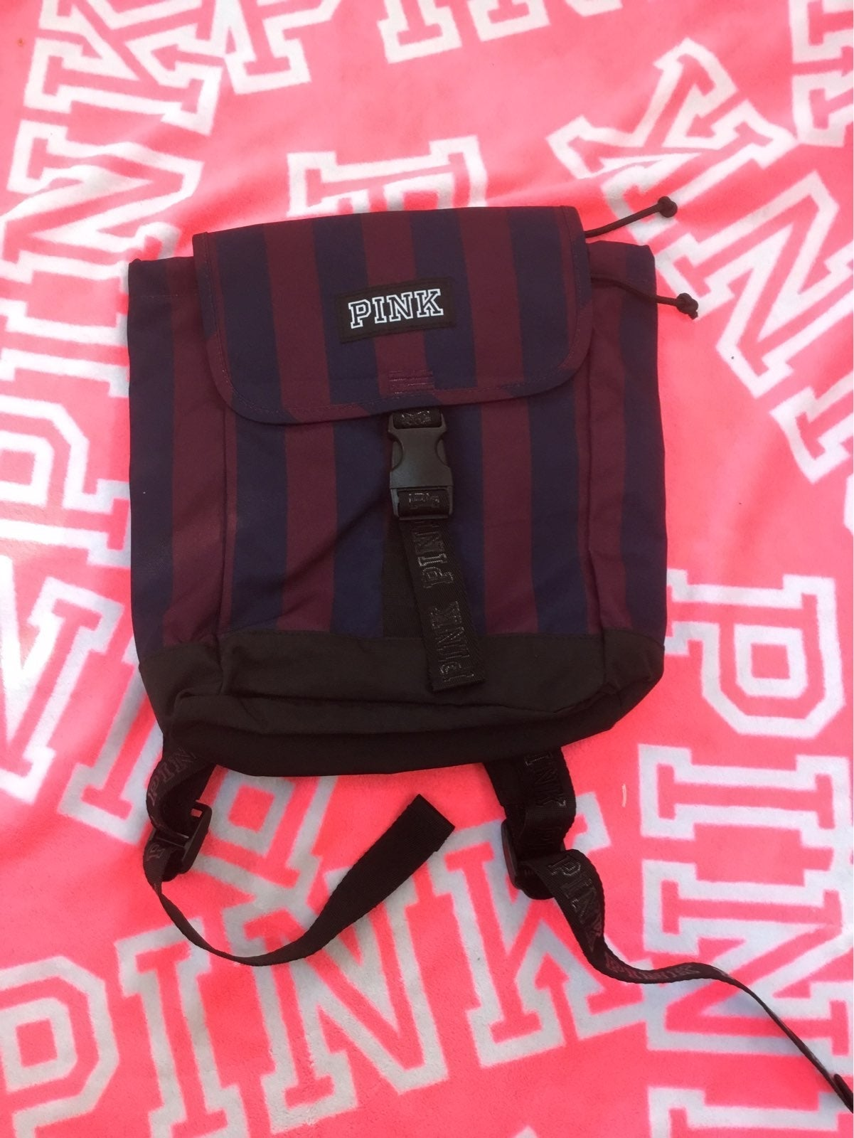 V.S.Pink Mini Backpack,New