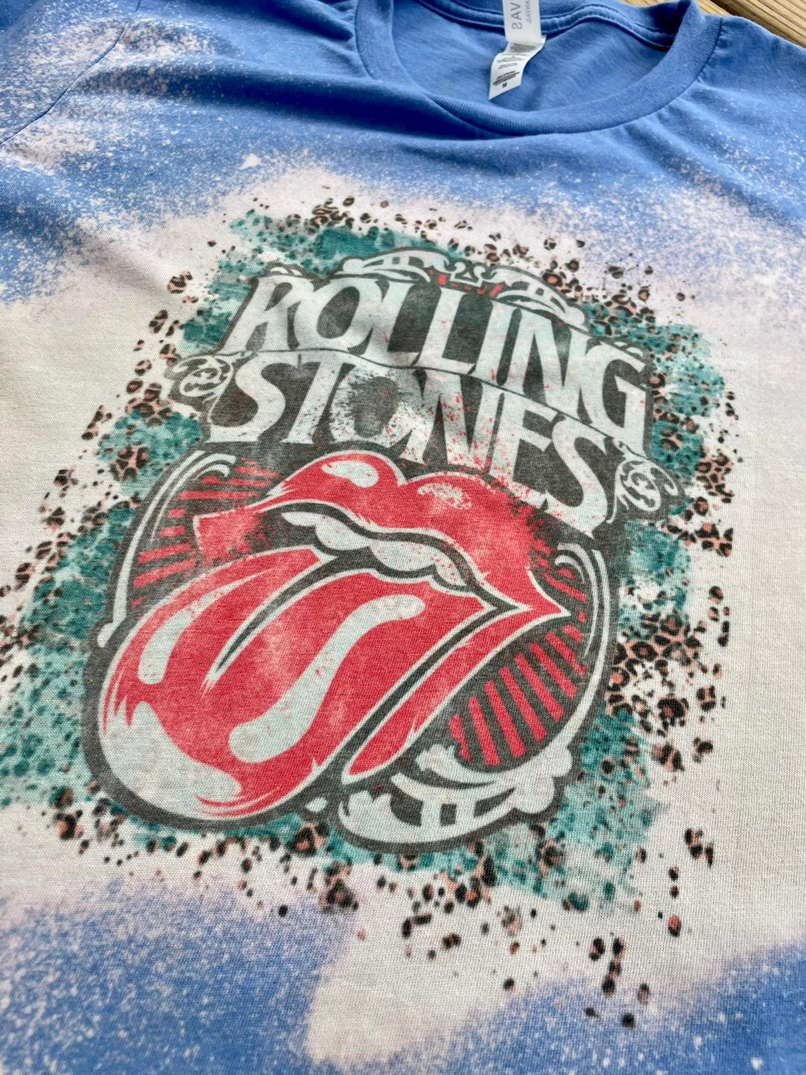bella canvas Rolling Stones tshirt