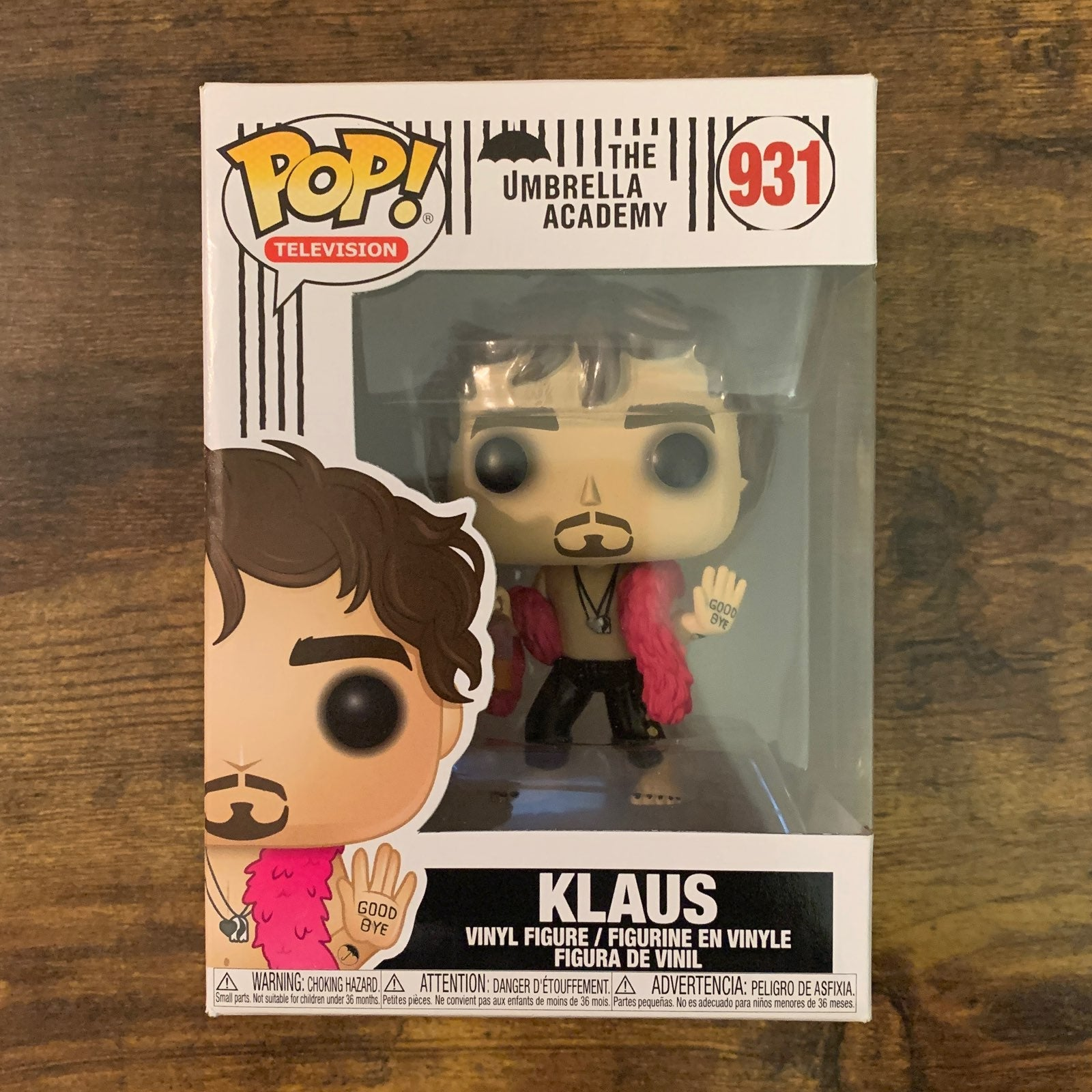 Umbrella Academy Klaus Funko Pop