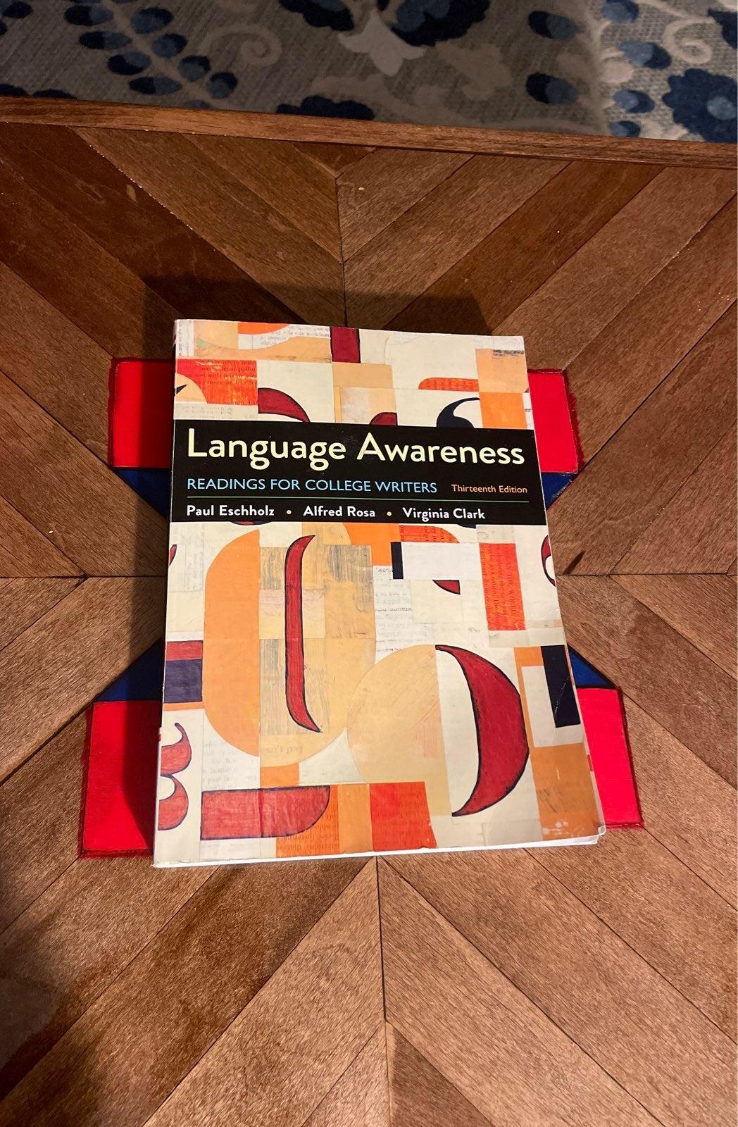 Language Awareness Thirteenth Edition
