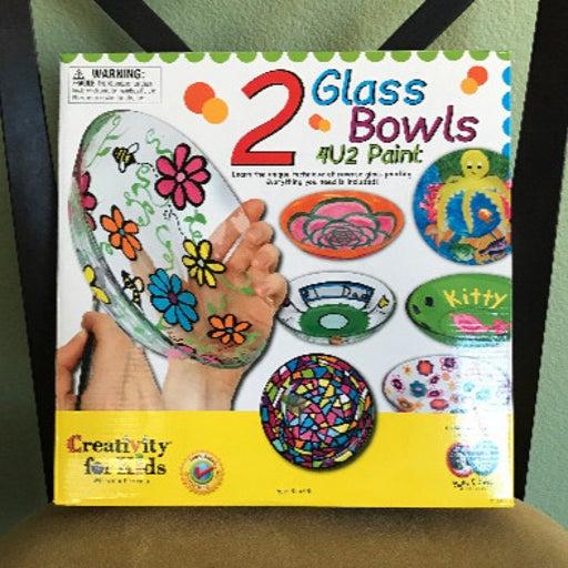 Glass Bowls 4U2 Paint - New!