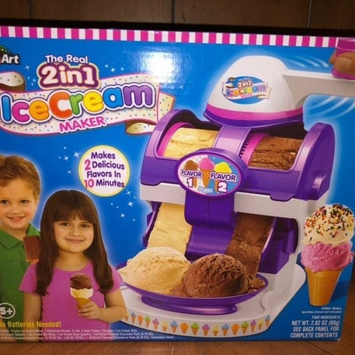 Cra-Z-Art The Real 2 in 1 Ice Cream Make